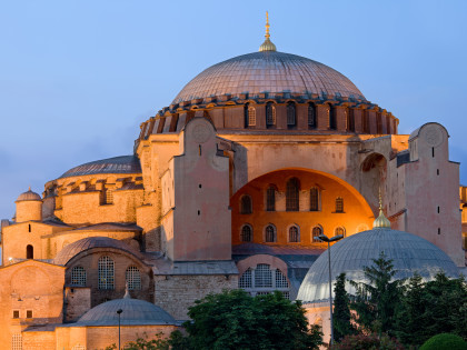 Byzantine architecture of the Hagia Sophia