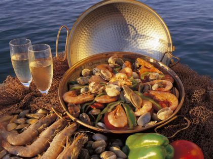 Seafood on the Cataplana