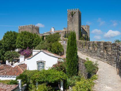 Obidos town wall