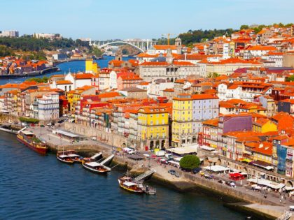 Portugal, Porto, view of the city and Douro
